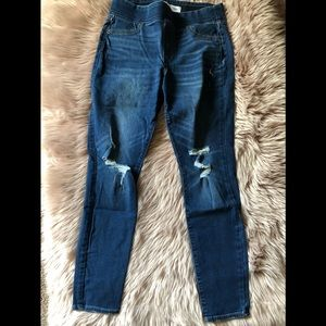 Old Navy pull on denim jagging's